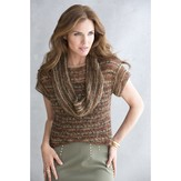 Stacy Charles Fine Yarns Keely Cowl-Collar Top PDF