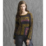 Tahki Yarns Sunrise Mitered Pullover PDF
