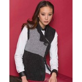 S.Charles Collezione Chrissy One-Button Vest PDF