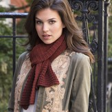 Stacy Charles Fine Yarns Sheep Meadow Scarf PDF