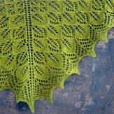 Tin Can Knits Photosynthesis Shawl PDF