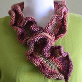 Universal Yarn DanDoh Scarf 2 - Knitted Hug for Japan (Free)