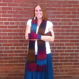 Universal Yarn Seed Stitch Scarf and Mitts (Free)