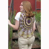 Universal Yarn Unchained Circles Vest (Free)