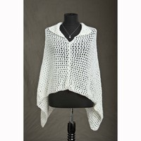 White Nights Collared Poncho (Free)