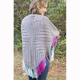 Universal Yarn Windmill Shawl PDF