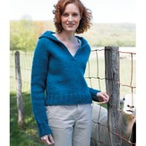 Valley Yarns 101 Mariana Top Down Sweater