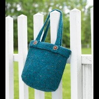 154C Williamstown Vermont Felted Bag (Free)