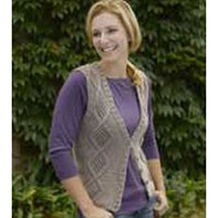 178 Greenwood Cabled Vest