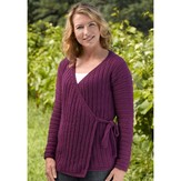 Valley Yarns 196 Market Street Tied Cardigan