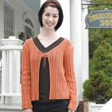 Valley Yarns 209 Ladder And Vine Cardigan