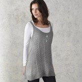 Valley Yarns 210 Staghorn Cabled Tunic