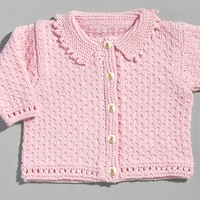 216 Sweet Sabina Child's Cardigan