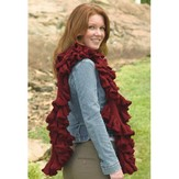 Valley Yarns 231 Ruffled Scarf in the Round PDF