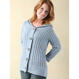 Valley Yarns 242 Laurel Top-Down Hoodie