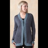 Valley Yarns 260 Network Cardigan