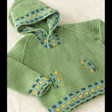 Valley Yarns 274 Candy Spot Child's Hoodie
