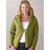 Valley Yarns 289 Aurora Shawl Collar Cardigan