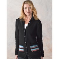 290 Selene Striped Cardigan