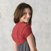 Valley Yarns 291 Shirred Shrug
