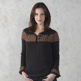 Valley Yarns 305 Dragonfly Henley