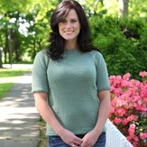 Valley Yarns 314 Lily Pad Beaded Pullover