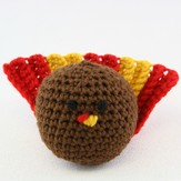 Valley Yarns 352 Crocheted Turkey (Free)
