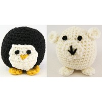 353 Crocheted Penguin and Polar Bear (Free)