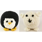 Valley Yarns 353 Crocheted Penguin and Polar Bear (Free)