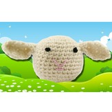 Valley Yarns 374 Crocheted Lamb (Free)