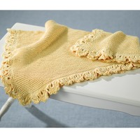 384 Golden Baby Blanket