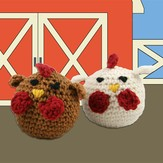 Valley Yarns 426 Crocheted Chickens (Free)