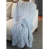 Valley Yarns 430 Bas-Relief Blanket