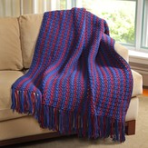 Valley Yarns 494 Berry Bramble Blanket