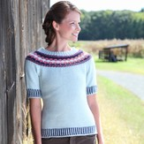 Valley Yarns 505 Dreamer's Braided Pullover