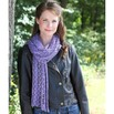 Valley Yarns 506 Crocus Lace Stole - 506