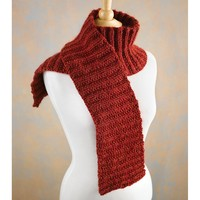 524 Cranberry Scarf (Free)