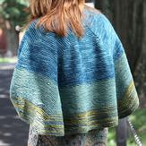 Valley Yarns 556 Foxfire Shawl