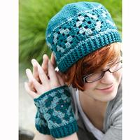 559 Marjoram Hat & Mitts