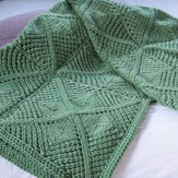 Valley Yarns 566 Mitchella Blanket