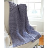 Valley Yarns 584 Thaw Cabled Blanket
