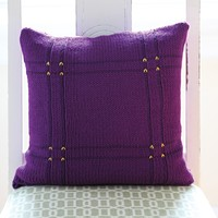 585 Viola Plaid Pillow