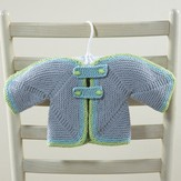 Valley Yarns 634 Maia Baby Cardigan