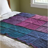 Valley Yarns 643 Mystery Knit-A-Long Blanket (Free)