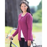 Valley Yarns B7 Basic Crochet Cardigan