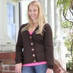 Valley Yarns B9 Basic Set-in Sleeve Cardigan - B9p