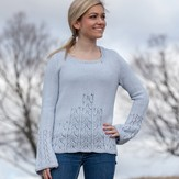 Valley Yarns 692 Ascending Leaves Pullover