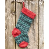 Valley Yarns Spotted Christmas Stocking Kit