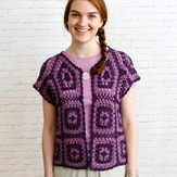 Valley Yarns DIR04 Motif Bolero by Doris Chan