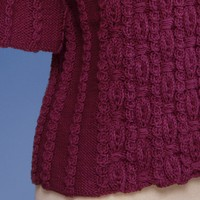 143 Ornamental Rib Pullover In 2 Sleeve Lengths PDF